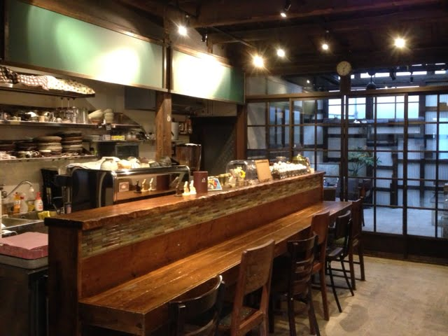 阿倍野のコーヒー店 うさぎとぼく店内写真