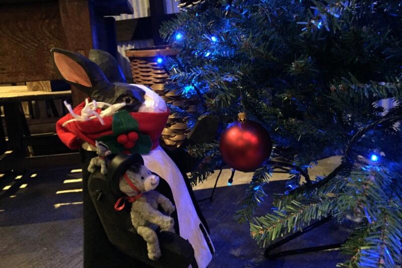 うさぎとぼく クリスマスツリー
