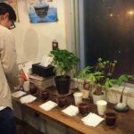 コーヒーのカッピング、豆と水質についての話