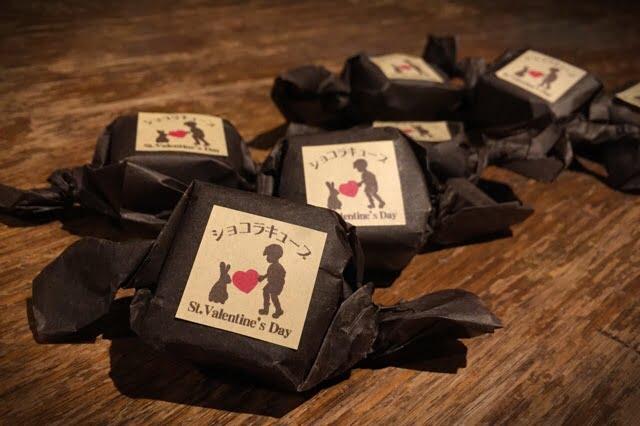バレンタイン期間限定ショコラキューブ 今年は生産が少なめになりそうです
