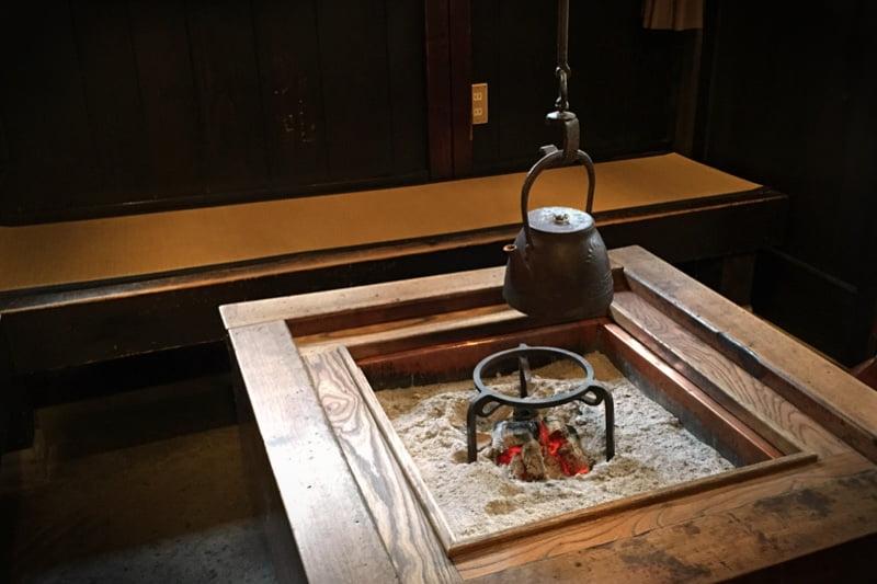 飛騨高山の酒蔵にて