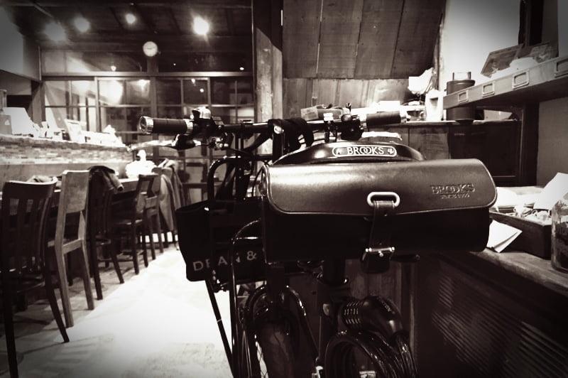 最近は自転車に乗って買い出しに行くのが楽しいです。