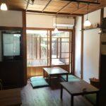 南田辺にある長屋カフェ「月ノ輪」さん、はじめてお伺いしてきました