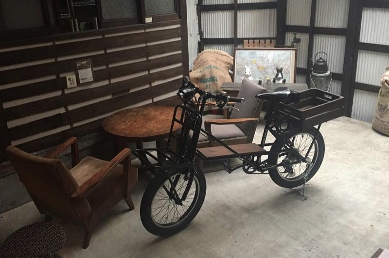 うさぎとぼくの自転車 リキシャタンク