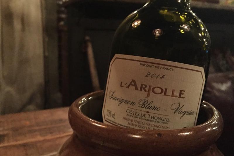 Djangoさんで、エスポアドイさんのワインを飲みながら夫婦で話