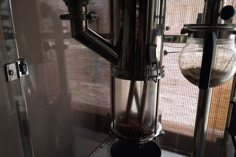 コーヒー豆の販売のみの営業でしたが、いい感じの1日でした。