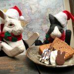 シフォンケーキがチョコ味に変更になったお知らせと「障害者週間」の話