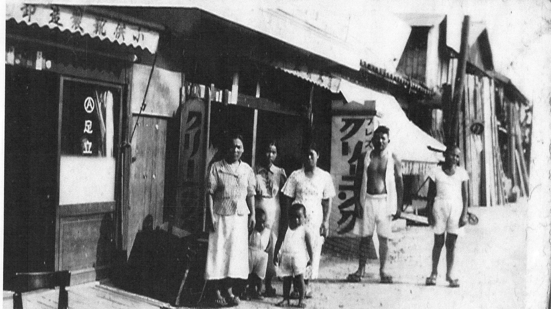 うさぎとぼく1938年(昭和13年)ごろの写真