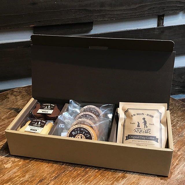 焼菓子と昭和町ブレンドドリップバッグコーヒーのギフトセット